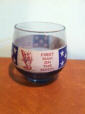 Vintage First Man on the Moon Apollo 11 Neil Armstrong 1969 Whiskey Glass