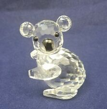 "Swarovski Crystal 1 3/4""  Facing Left KOALA Bear Endagered Species Series"
