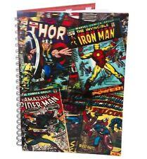 Marvel Comics 3d Lenticular Cover A5 Cuaderno Forrado Oficial Thor Hombre Araña