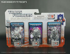 MEGATRON Transformers 3-Pack Mini Figurine + 3D Puzzle Piece 30th Anniv Goldie
