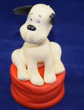 Vintage LORIORT GOEBEL Rubber Dog Sitting On Cushion  FREE SHIPPING