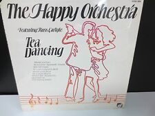 "THE HAPPY ORCHESTRA TEA DANCING RUSS CARLYLE 12"" SEALED VINYL LP RECORD"