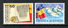 LIECHTENSTEIN MNH 1994 SG1070-1071 ANNIVERSARIES
