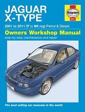 Jaguar X Type Petrol & Diesel 2001 - 2011 5631A HAYNES
