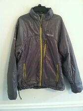 GREAT CONDITION Marmot women's size medium M jacket coat silver gray yellow used