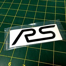 Ford Focus RS reflective black inlay decal for wing (2 per order)