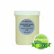 8 OZ REFINED ORGANIC SHEA BUTTER EXTRA WHITE ODORLESS