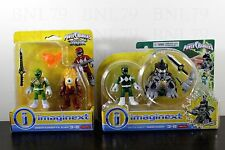 SET 2 GREEN RANGER Battle Armor Dragonzord Imaginext Fisher-Price POWER RANGERS