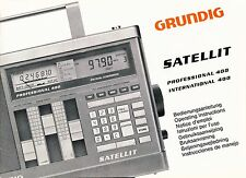 Manual Grundig Satellite 400