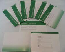 Service générique history book convient pour 106 107 205 206 207 306 307 vert