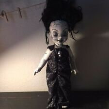 Havannah Creepy Gothic Corpse Dead Bride Horror Doll Custom Ooak