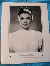 LENA HORNE #B~singer-actress~sexy 1940's B&W 8 x 10 GLOSSY PHOTO~gift~scrapbook
