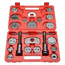 22pcs Disc Brake Caliper Piston Pad Car Auto Wind Back Hand Tools Kit With Case