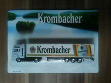Minitruck Biertruck Brauereitruck MAN Krombacher Brauerei 1:87
