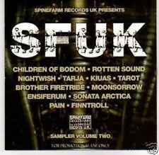 Various - SFUK: Spinefarm Records Sampler Volume Two Promo Album (CD) Tarja
