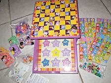 Dora The Explorer Wooden Game House~ Checkers, Dominoes, Bingo, TicTacToe, Cards