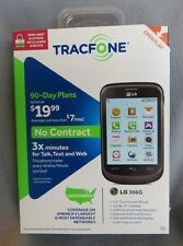 LG 306G - Black (TracFone) Cellular Phone No Contract New in Box