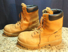 Timberland Pro Series Boot Thermolite Waterproof Tan Men's Size 9W