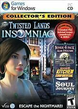 Twisted Lands: Insomniac - Collector's Edition Bonus Pack, Acceptable Video Game