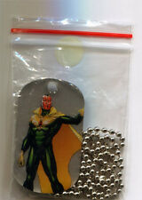 Marvel Dossier Dog Tags Chain Necklace Vision 54 of 55