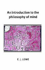 An Introduction to the Philosophy of Mind (Cambridge Introductions to -ExLibrary