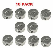 10 PACK OF 2MM 316 STAINLESS STEEL WIRE ROPE GRIP CLAMPS (FREE DELIVERY)