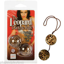 Leopard Duo-Tone Weighted Ben Wa Balls Tight Vaginal Kegel PC Excercise Enhancer