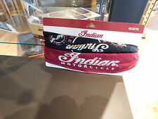 Genuine Indian Motorcycle Bandana New 2015 Head Tie Elastic Back And Tie