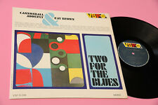 CANNONBALL ADDERLY & RAY BROWN LP TWO FOR THE BLUES ORIG ITALY 1966 EX+ !!!!!!!!
