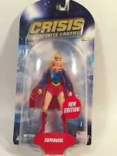 "DC DIRECT CRISIS ON INFINITE EARTH SERIES 1 SUPERGIRL 7"" FIGURE RARE HOT"