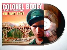 CD SINGLE B.O. FILM ▓ COLONEL BOGEY : THE ARMY BOYS (LE PONT DE LA RIVIERE KWAI)