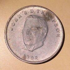 Canada Prime Minister John S. Thompson Medal