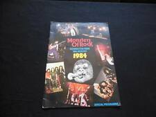 Vintage August 1984 Monsters of Rock Donington Park Official Program ACDC Ozzy