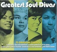 Greatest Soul Divas - 75 Original Classics (3CD 2013) NEW/SEALED