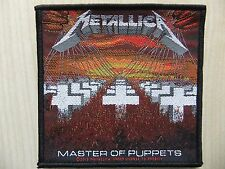 Aufnäher - Patch - Metallica - Master Of Puppets - Overkill - Slayer - Motörhead