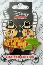 Disney DSF DSSH Chip and Dale with Corn Thanksgiving 2014 LE 400 Surprise Pin