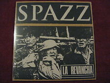 SPAZZ La Revancha LP 625 reissue yellow Man Is The Bastard No Less No Comment
