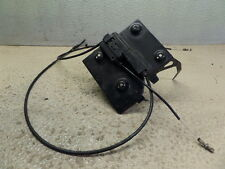 2003 BMW R1150R MOUNT BOX ASSY METAL W/ CABLE MECHANISM