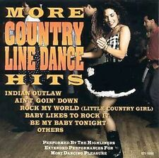 More Country Line Dance Hits Highliners MUSIC CD