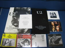 U2 The CD Single Collection 1981-1989 Part 1 EU Six CD Singles in Box Bono