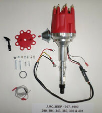 small cap AMC JEEP 67-90 290,304,343,360,390,401 PRO SERIES Red HEI Distributor