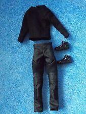 Barbie * Ken Doll * Black Sweater, Pants & Boots * Divergent Four Fashion