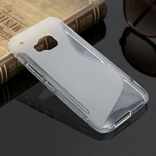 HOUSSE ETUI COQUE SILICONE GEL HTC ONE M9 TRANSPARENT