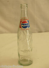 Old Vintage Pepsi-Cola Beverages Soda Pop Bottle 10 fl. oz.
