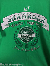 Mens NEW 2XL Irish Pub T Shirt~Shamrock Home of Cheers and Beers~XXL~Celtic IRE