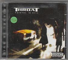 THROAT - knievel is evil CD