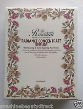 Rosanna Radiance Concentrate Serum Whitening & Anti-Ageing 3*8ml Bottles Box