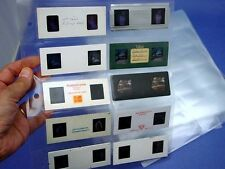 25 Archival Slide storage Pages for storing 250 Stereo Realist slides - nice!!