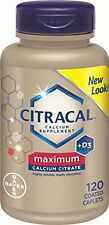 Citracal Maximum Caplets with Vitamin D3 120 Count Each