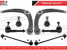 FOR PEUGEOT 307 FR LOWER WISHBONE ARMS DROP LINKS BALL JOINTS TRACK TIE ROD ENDS